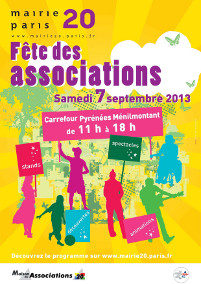 Fête des associations du 20e arrondissement